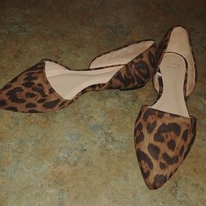 A New Day Leopard Print Flats
